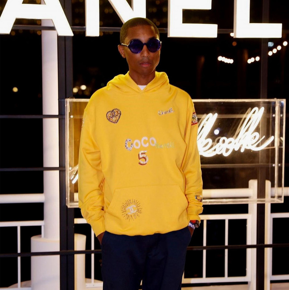 pharrell teases chanel collaborative collection