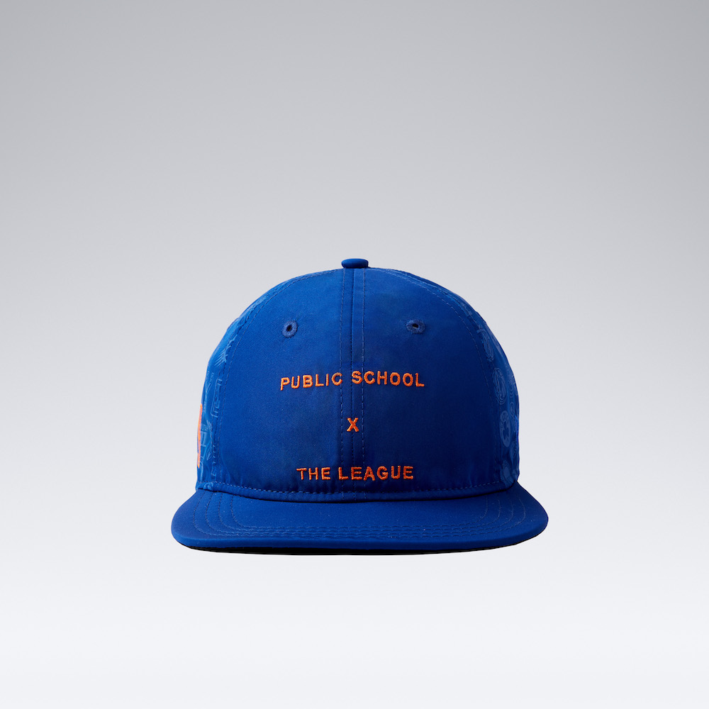 """27a251579ad96 Look for the Public School x New Era """"PSNY x The League"""" hat collection  tomorrow (October 18) at the PSNY retail space on 3 Howard Street in NYC  and online"""