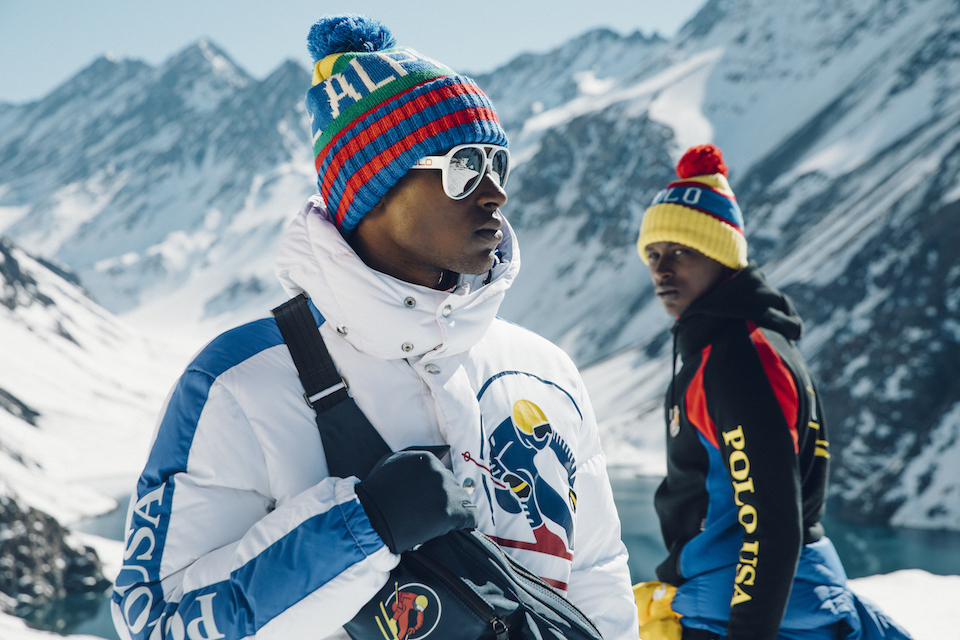 ralph lauren downhill skier collection