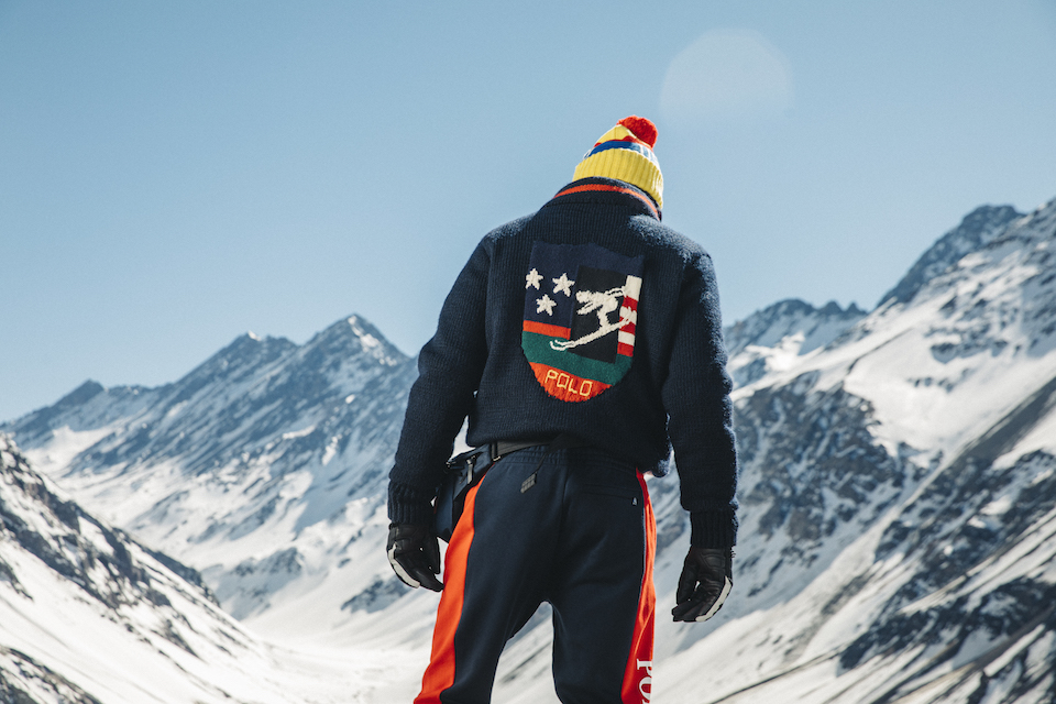 With Skier' Ralph Lauren Hits New 'downhill A Slopes Collection The A5j4RL