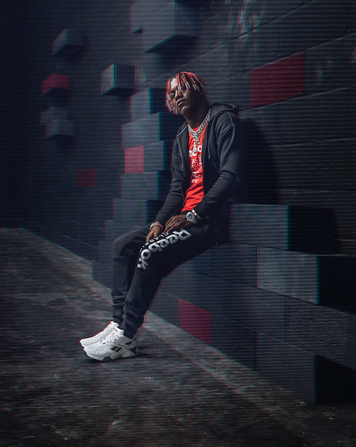 f904f0c6389 Get the new Reebok Aztrek colorway for  90 USD right now over at Reebok.com.  Peep Lil Yachty modeling the shoe below