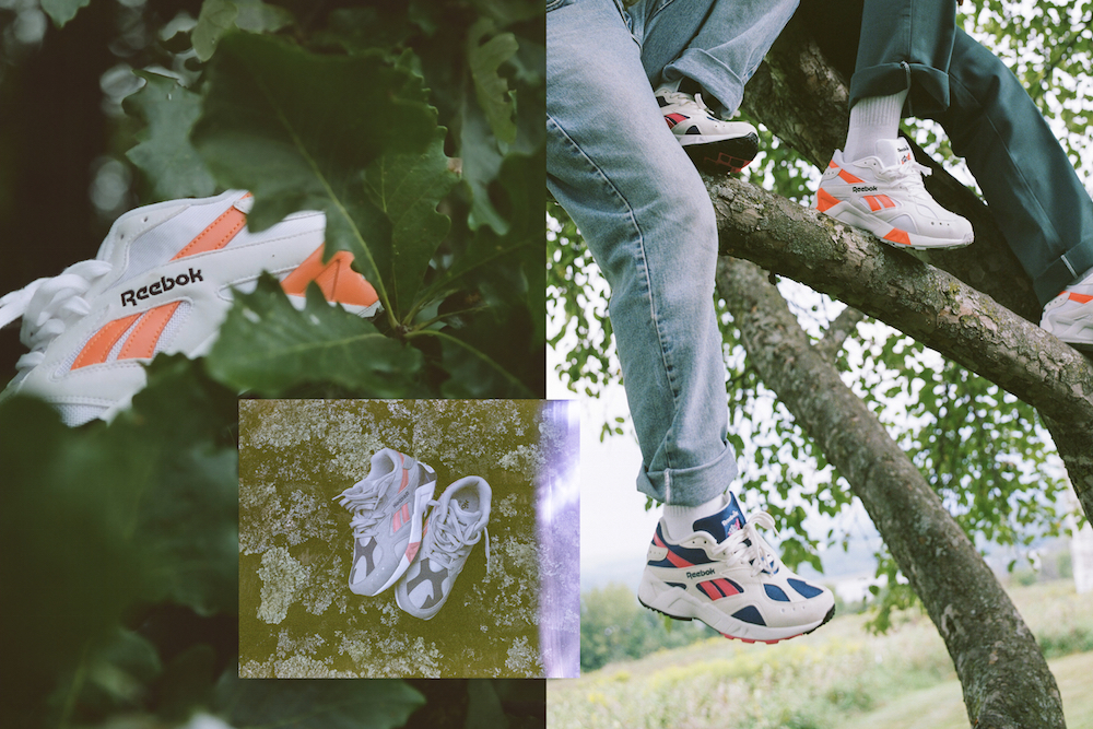 9a8878d002a7e Reebok Classic Gives the Aztrek Sneaker a Proper Relaunch With Help From   90s Vintage Collector Influencers