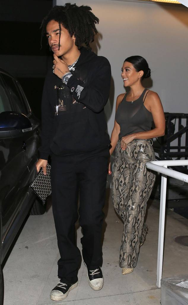 Kourtney Kardashian Spotted on Date With 'Grown-ish's Luka Sabbat
