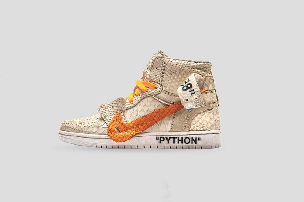 """Putting a spooky spin on the OFF-WHITE™ x Nike Blazer """"All Hallow s Eve""""  that dropped late last month and again earlier this month b011a32ccd"""