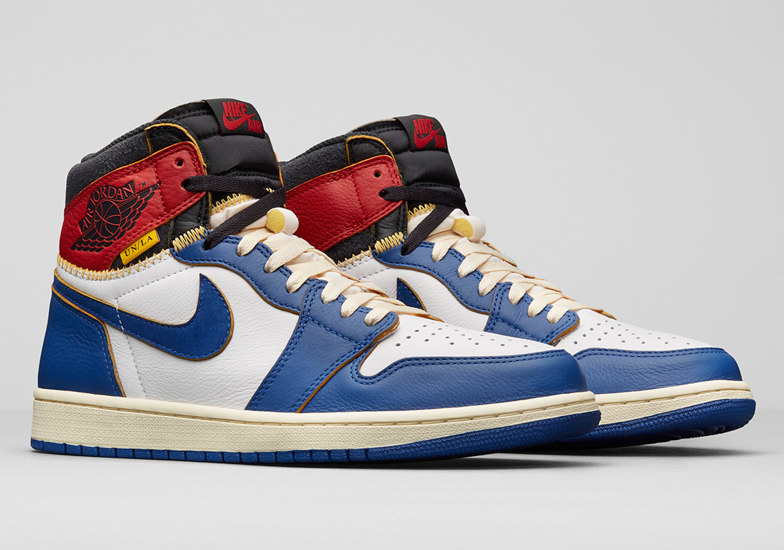 22d87d56dd1a The UNION x Air Jordan 1 Also Comes With a Fire Capsule Collection ...