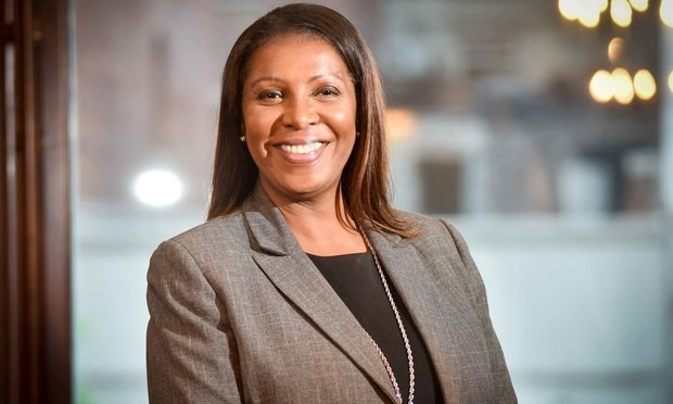 Letitia James Becomes New York Attorney General