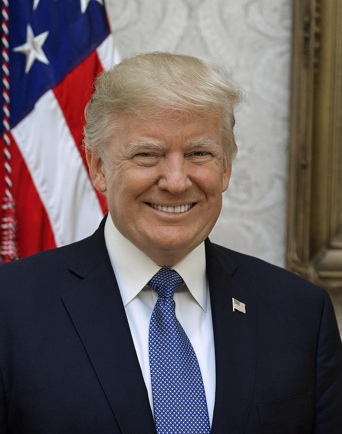 px Donald Trump official portrait