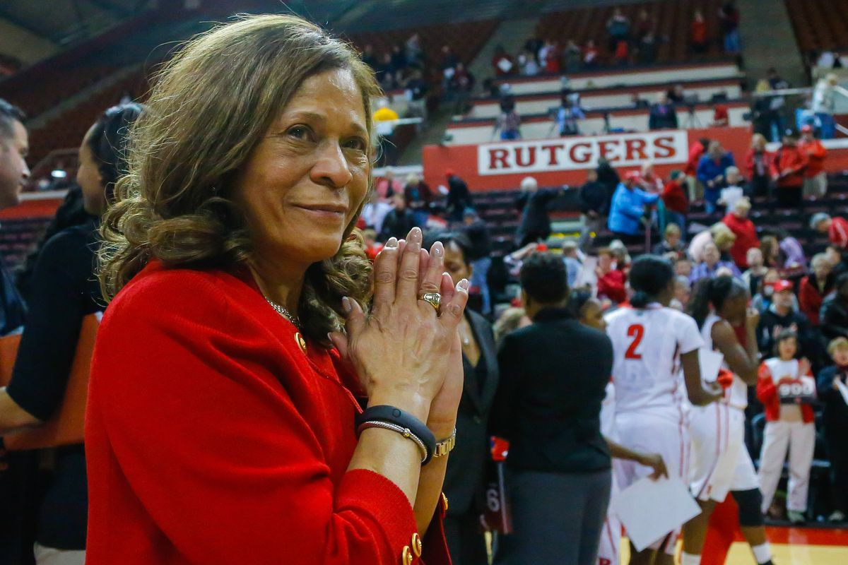 Rutgers head women's basketball coach C. Vivian Stringer now rubs shoulders with the all-time greats of her profession.
