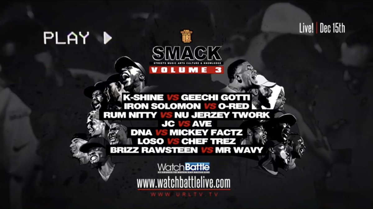 URL Announces 'SMACK Volume 3' Event | The Source