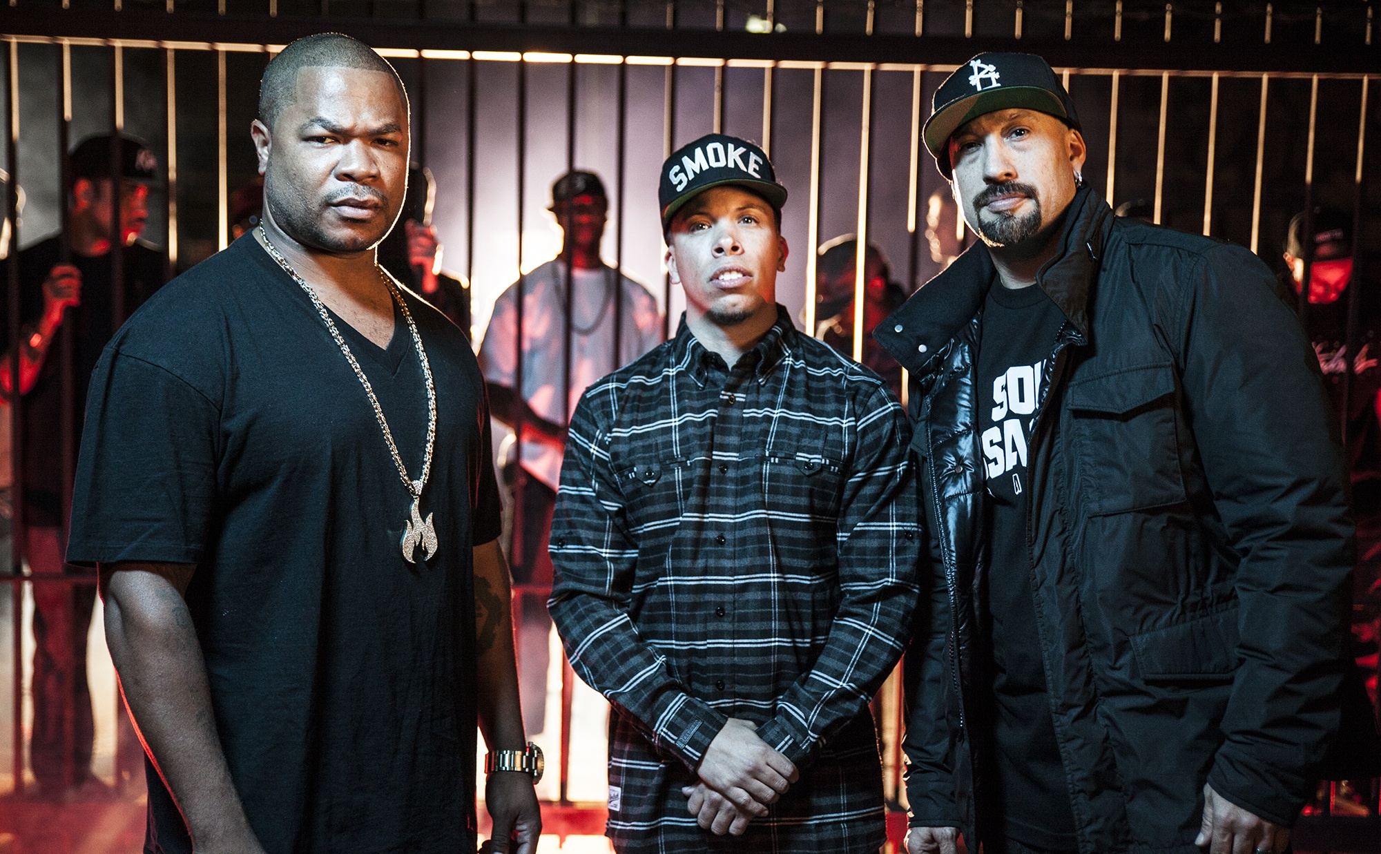 Meet The Serial Killers: Xzibit, B-Real and Demrick Form L.A. Union