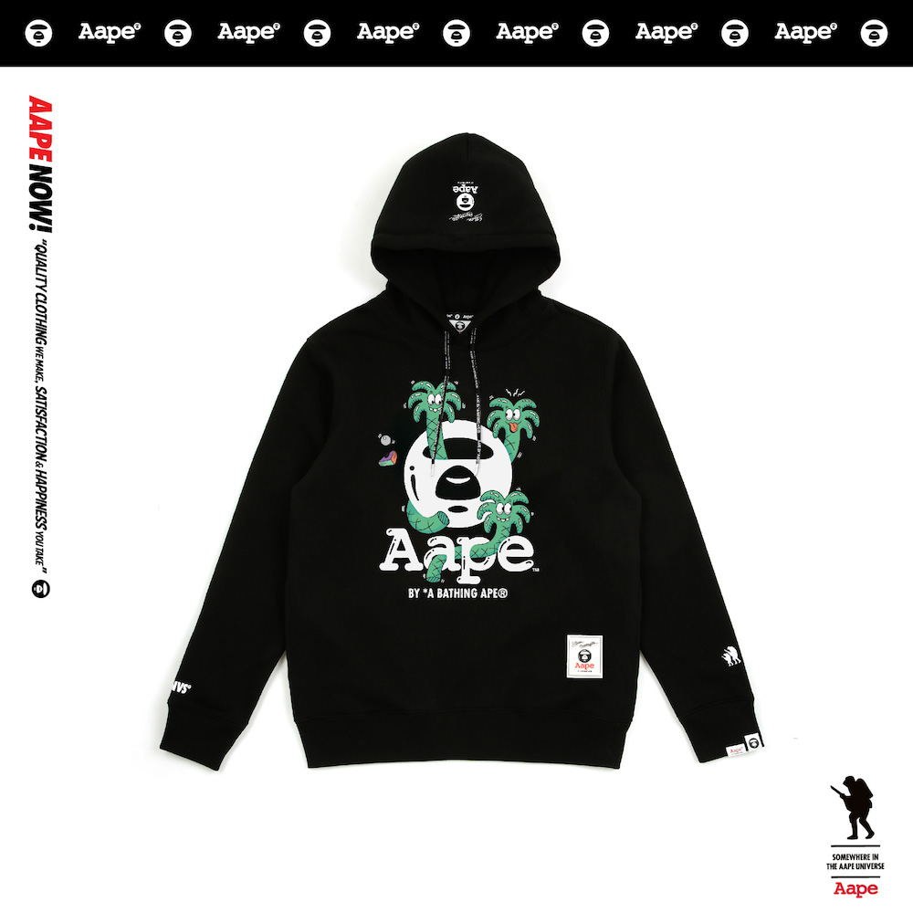 AAPE by A Bathing Ape Links With Steven Harrington For FW18 Capsule Set b88d65f35