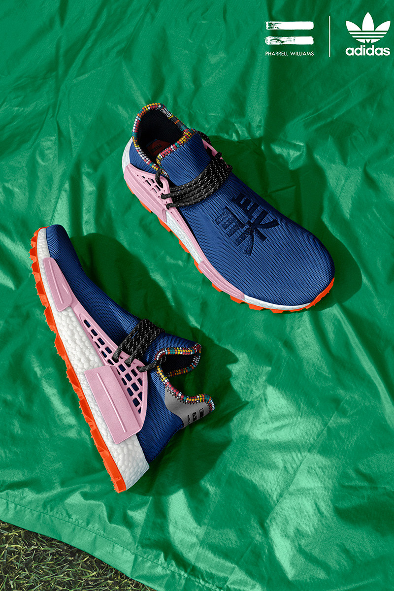 "fd7611271 The Pharrell x adidas Solar Hu NMD ""Inspiration Pack"" drops this Saturday  (November 10) online and at select retailers. Get a look at the  eye-grabbing ..."