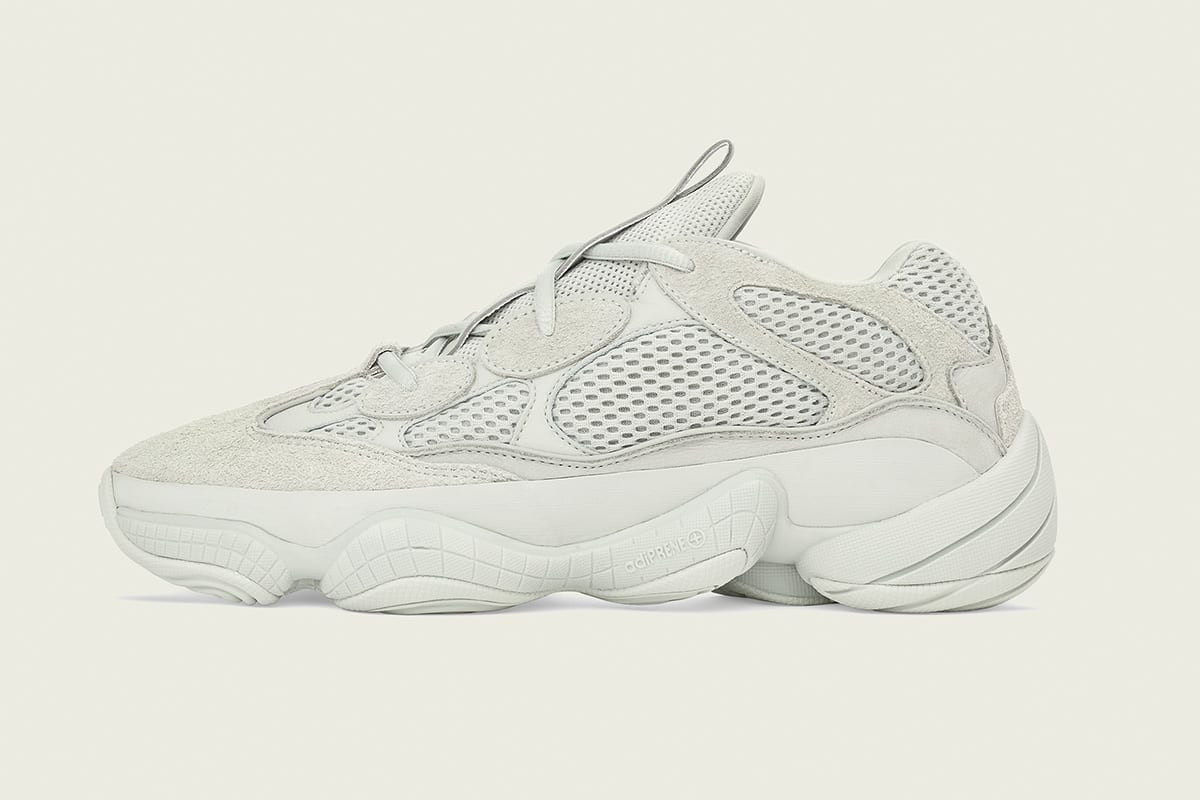 "e7267946f Get the adidas YEEZY 500 ""Salt"" starting tomorrow (November 30) at 10 AM  EST for  200 USD in the Three Stripes  online store."