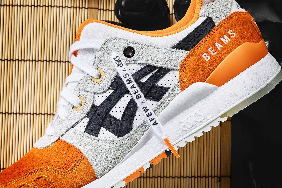newest collection 26d2f 0519d Afew x BEAMS x ASICS GEL-Lyte 3