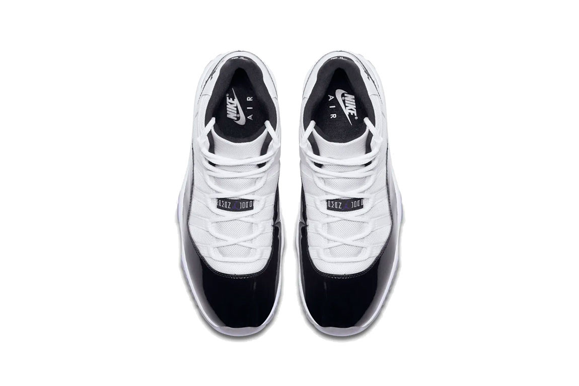 """sale retailer 11c57 8a220 Expect the Air Jordan 11 """"Concord"""" to drop officially, in sizes for the  entire family, starting December 8 at select Jordan Brand retailers and  through Nike ..."""