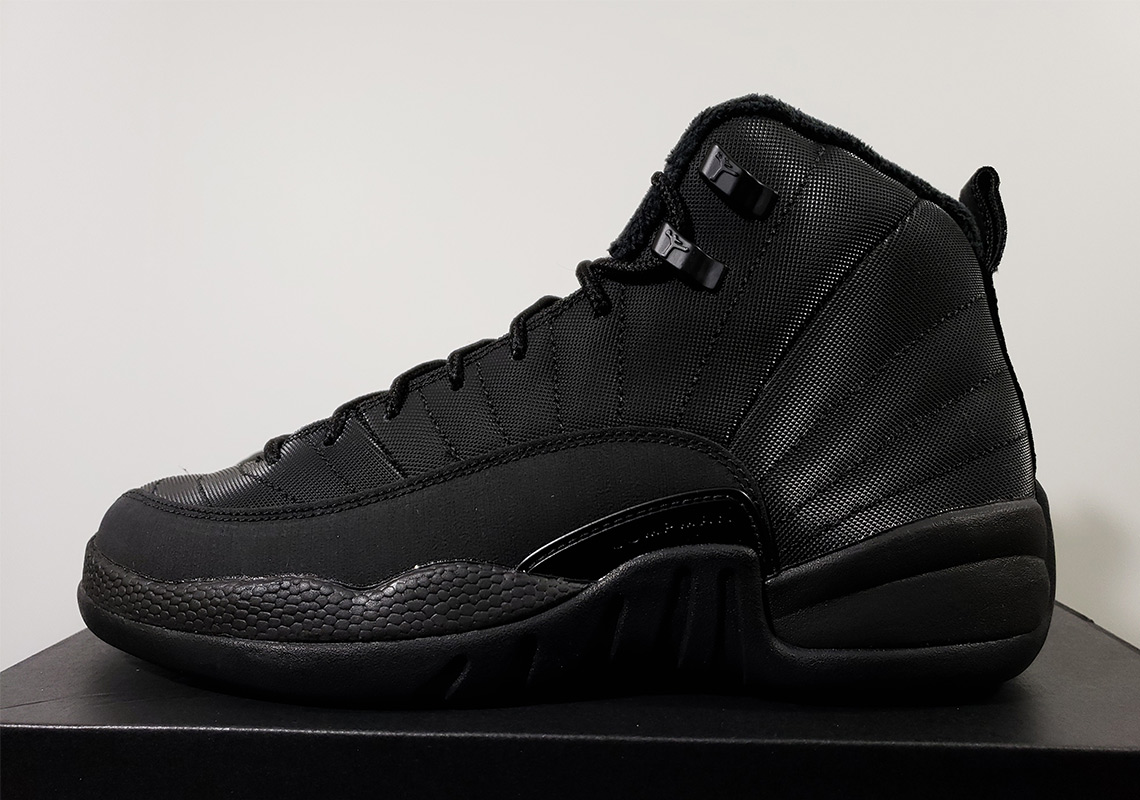 "ff47bc113f7c3b The Air Jordan 12 ""Triple Black"" with winterized construction will arrive  in December"