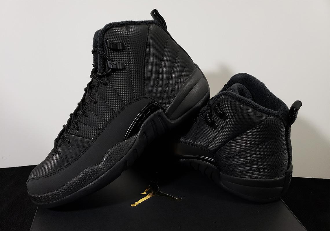 Winterized Air Jordan 12 \