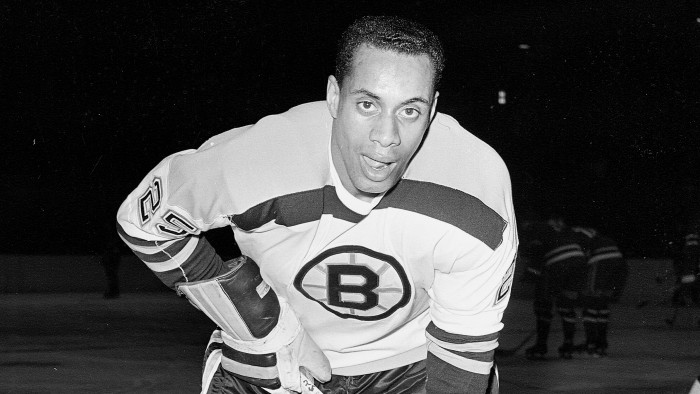 Willie O'Ree Becomes First Black Pro Hockey Player Inducted Into the NHL Hall of Fame