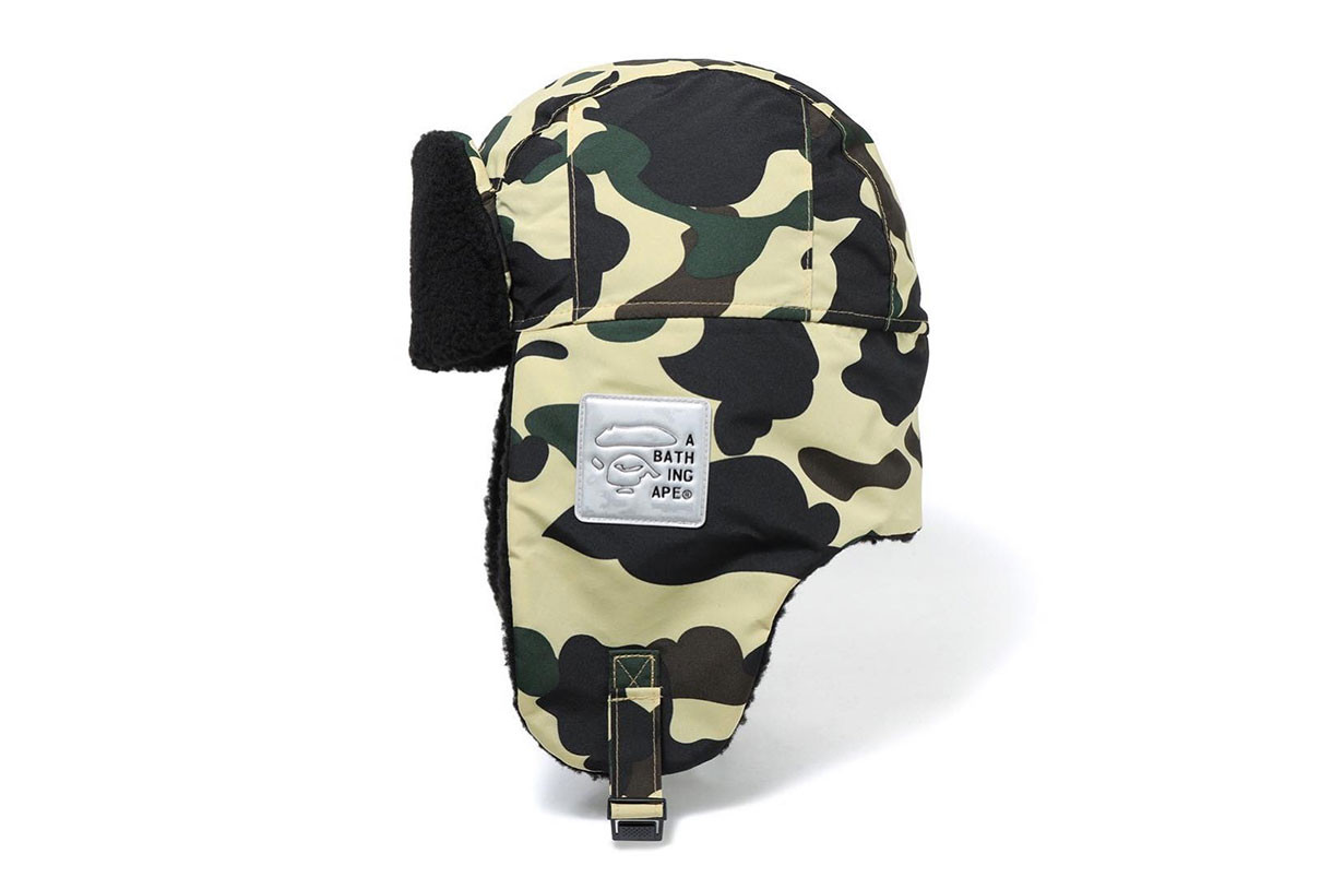3f1f80f47387 BAPE Preps an Accessories Set That the Entire East Coast Could Use Right Now