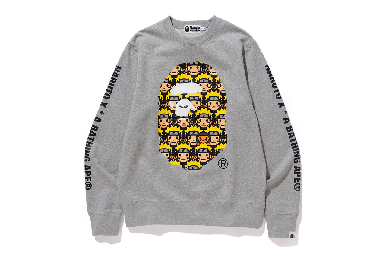 bape naruto boruto collaboration