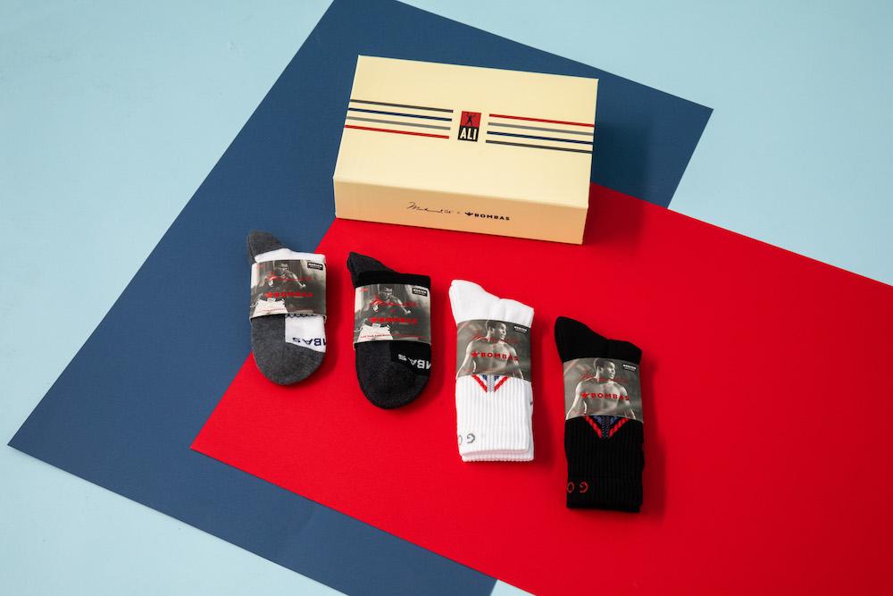 bombas socks muhammad ali collection