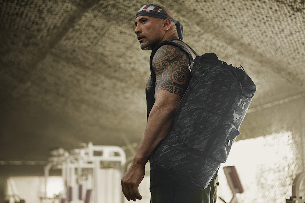 dwayne johnson under armour project rock veterans day collection