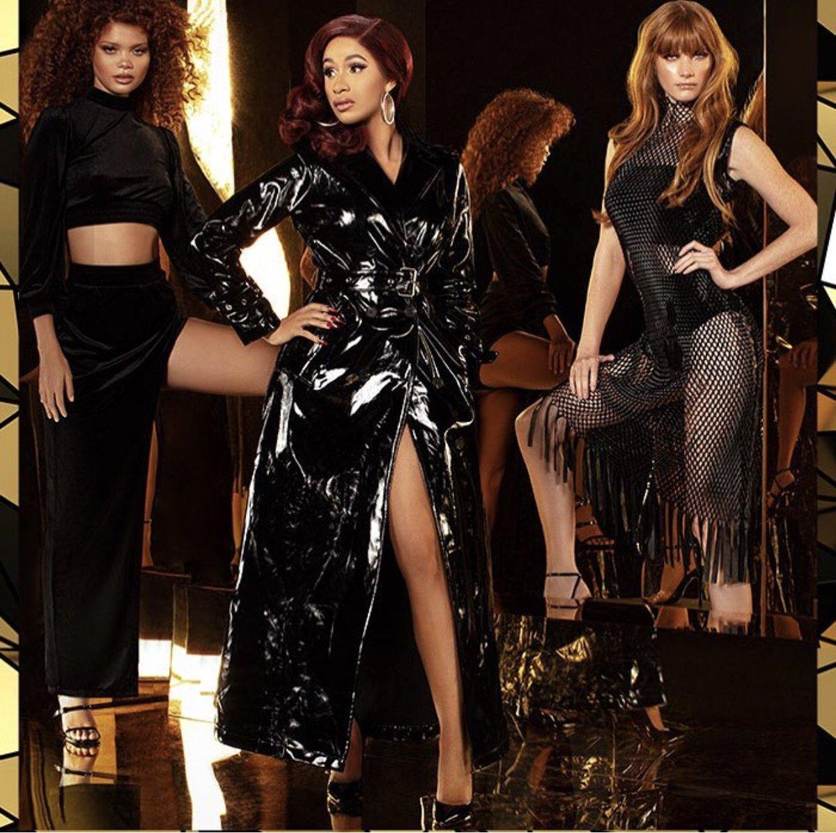 Cardi B Debuts Her Fashion Nova Line in Vogue