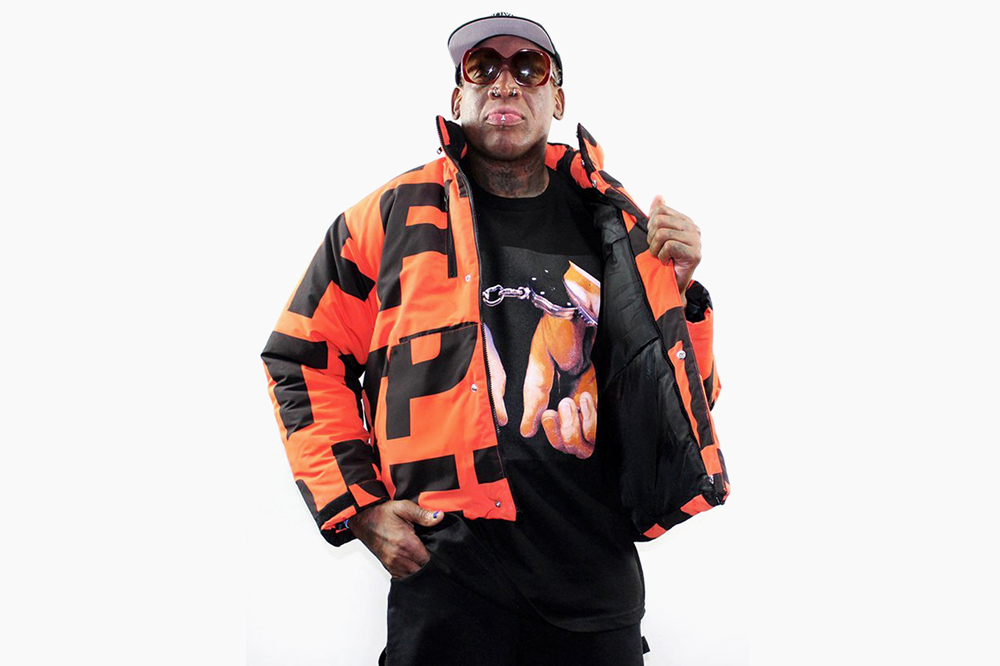 c6fa2865645f78 Dennis Rodman Is Once Again a Fashion Icon Thanks to L.A. Streetwear Brand  FTP