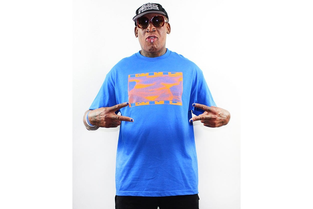 22cd1676 The post Dennis Rodman Is Once Again a Fashion Icon Thanks to L.A.  Streetwear Brand FTP appeared first on The Source.