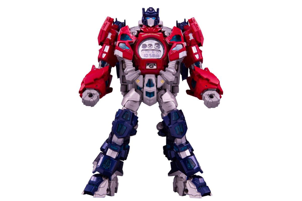 g shock transformers watch th anniversary optimus prime