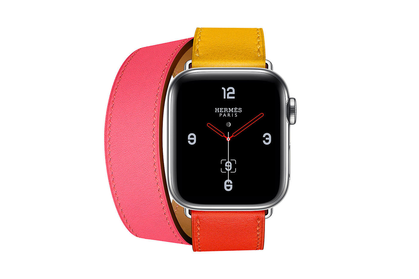 1a5f1a98f The luxury fashion house just dropped a set of new Apple Watch Series 4  straps, offering two premium leather options in vibrant colorways.