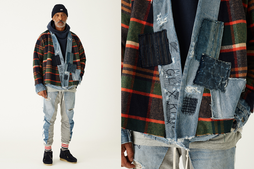 "eaa7ad0247 The KITH x Greg Lauren ""Ivy league Draft"" Collection Delivers Upcycled  Americana To Perfection"