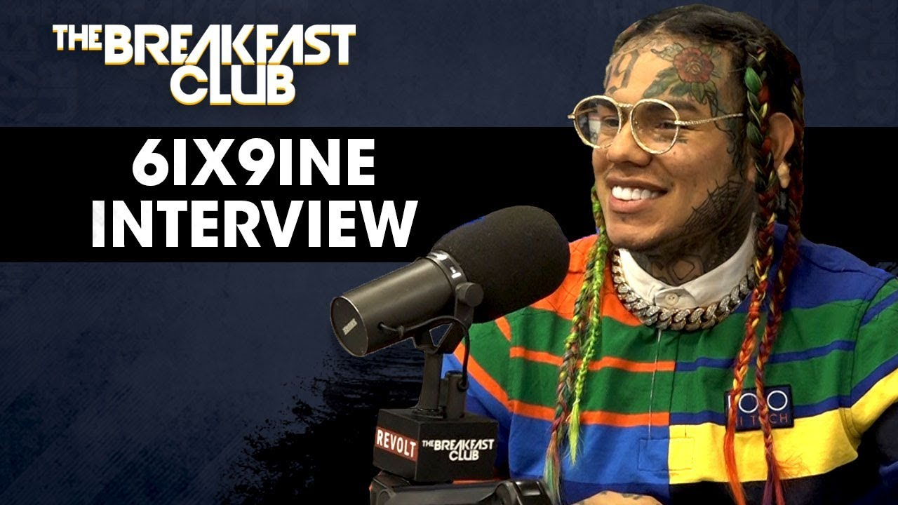 Tekashi 6ix9ine Issued Warning from MTA Booking Following Breakfast Club Interview