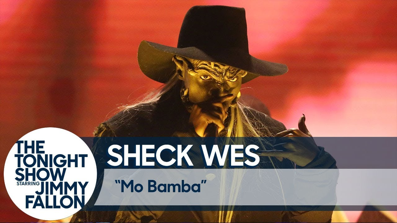 Sheck Wes Haunts 'The Tonight Show' Stage with His 'Mo Bamba' Performance