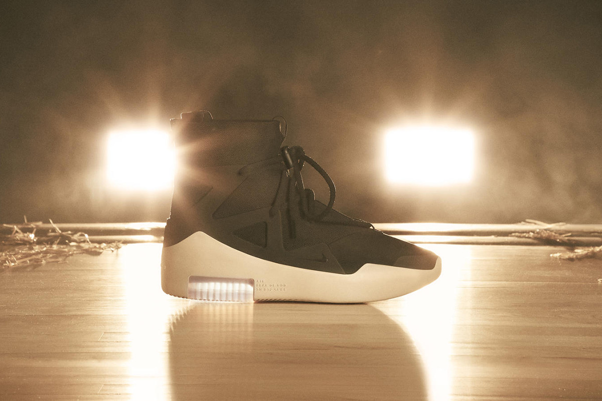 Introducing Jerry Lorenzo's Nike Air Fear of God 1 Sneaker