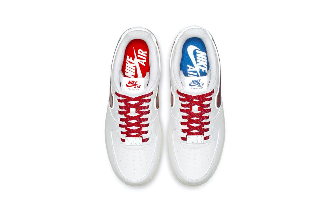 "quality design e2f97 5a446 ... Nike Air Force 1 ""De Lo Mío"" since that early preview we all got back  in October, and now the Swoosh is doubling down on the Dominican pride with  ..."
