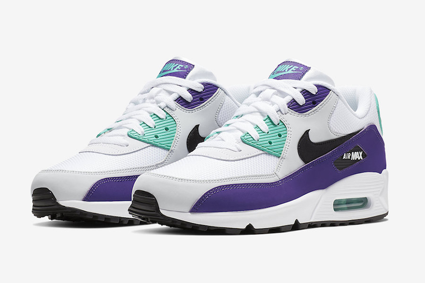 prix le plus bas efc50 faceb Nike Goes for Grape With its Latest Air Max 90 Colorway ...