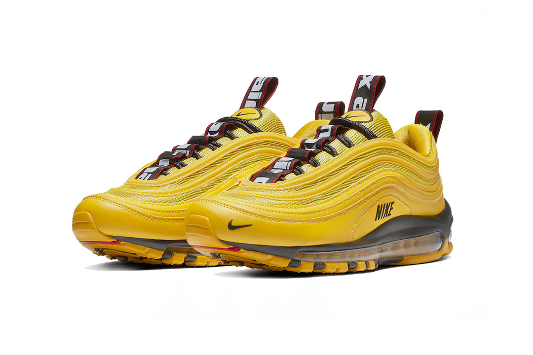 """best service 404ff 92c3a Expect the Nike Air Max 97 Premium """"Bright Citron"""" to arrive at the top of  next month (December 1) for  170 USD at select NSW retailers and online."""