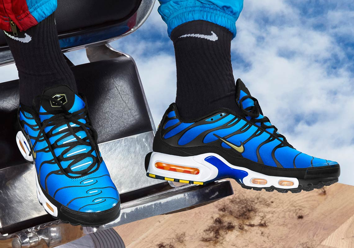 promo code 0167d af022 The Highly Coveted Nike Air Max Plus  Hyper Blue  Returns Along With More  OG Colorways