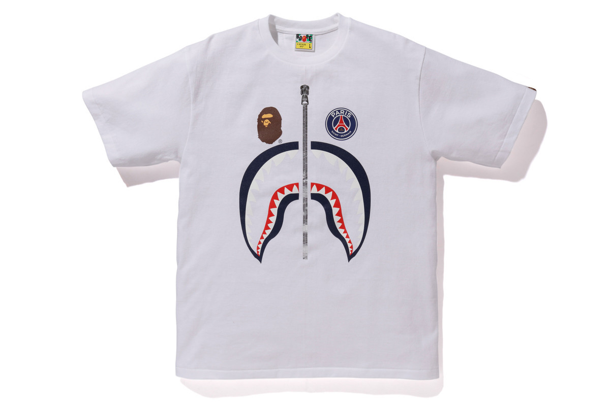 c1790eaeadf6 BAPE Links With Paris Saint-Germain For Another Fire FW18 Collab ...