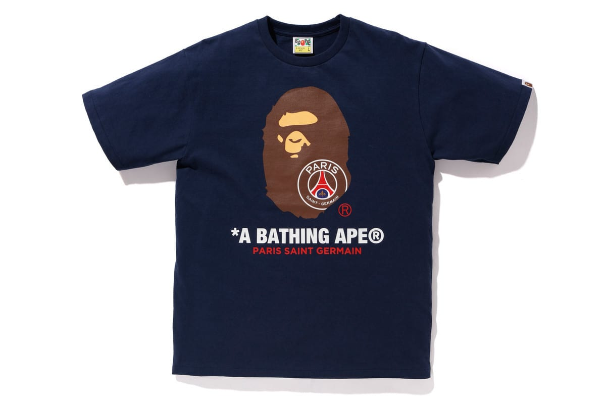 89daa086397 BAPE Links With Paris Saint-Germain For Another Fire FW18 Collab ...