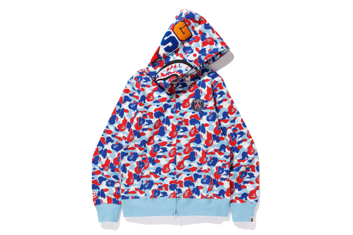 online store c6245 29149 BAPE Links With Paris Saint-Germain For Another Fire FW18 ...