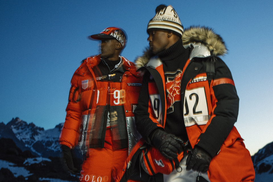 Ralph Lauren Takes It Back to  92 With Limited Edition Winter Stadium  Collection 856660945a51