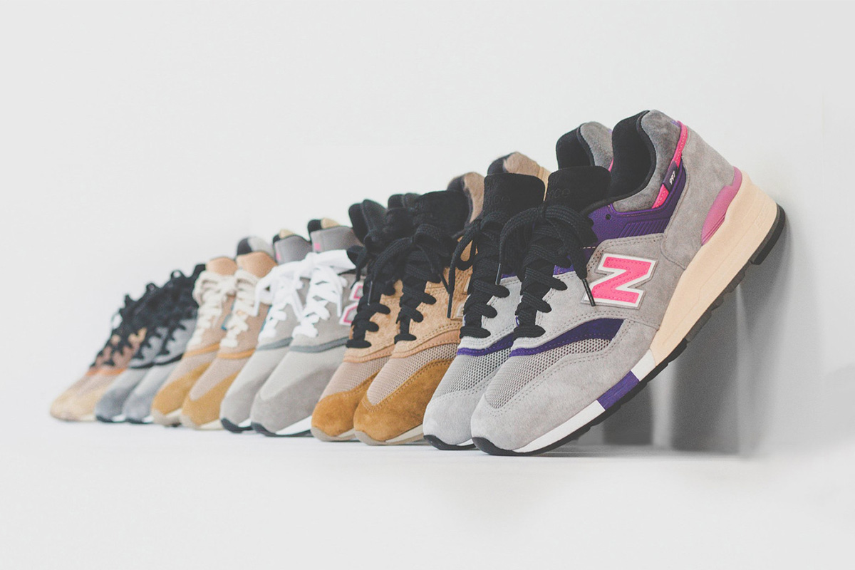 ronnie fieg new balance kith collaboration