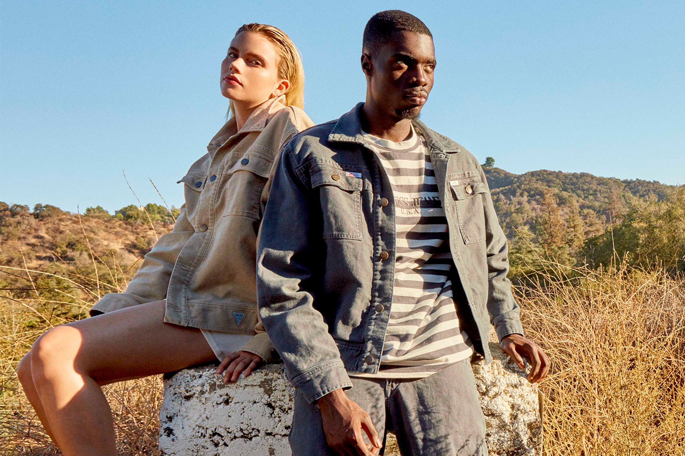 sheck wes stars in the new guess x infinite archives fw18 campaign