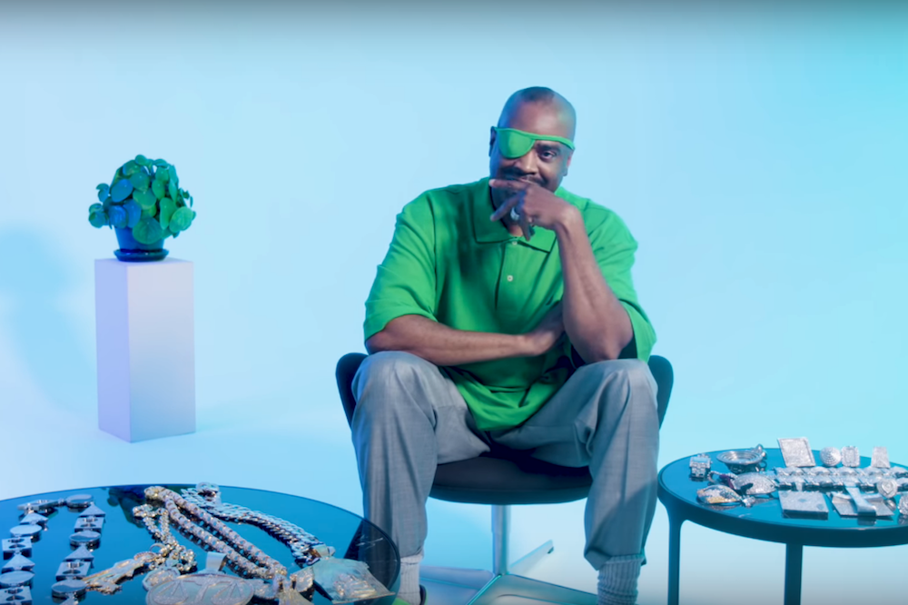 Slick Rick Takes 'GQ' Through the Art of Jewelry Collecting