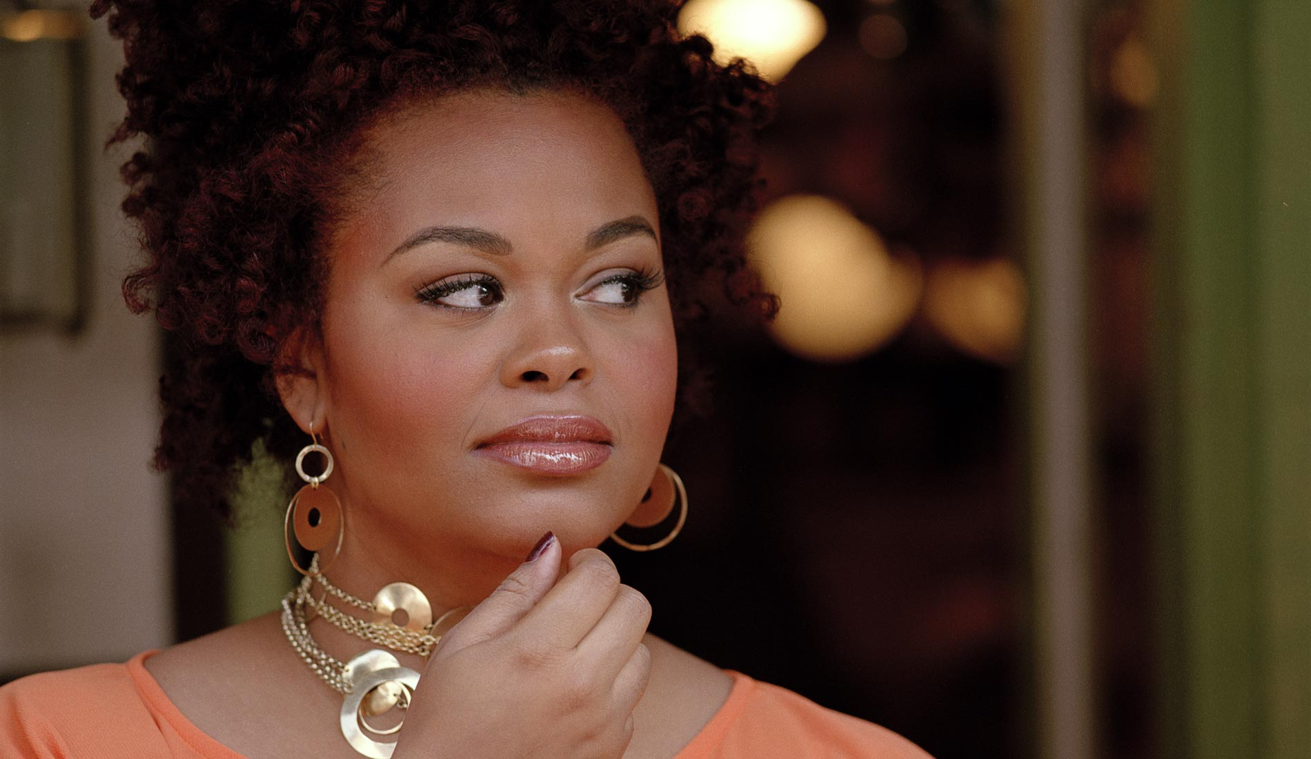 Image result for Jill Scott went viral for a sexy performance with a microphone.