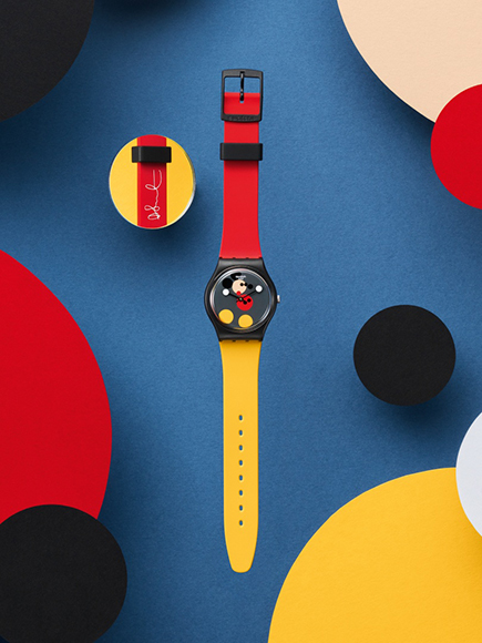 swatch watches damien hirst mickey mouse th birthday