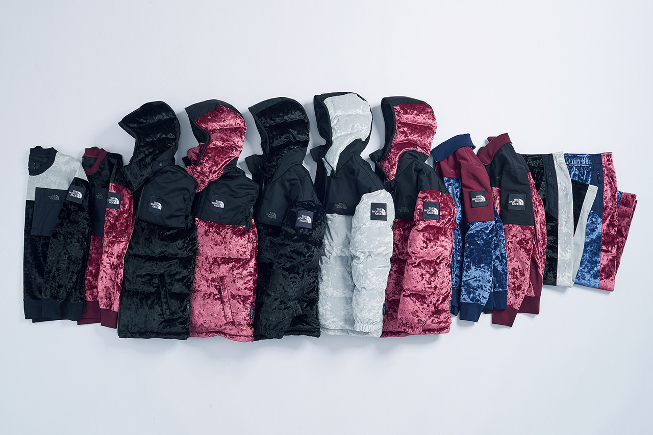 the north face fw velvet collection