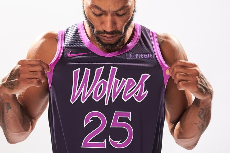 b946b18d09f Here's an Official Look at the Prince-Inspired Timberwolves 'City Edition'  Uniforms